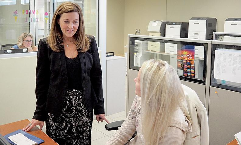 Marissa Hunt, corporate controller, LaFontaine Automotive Group