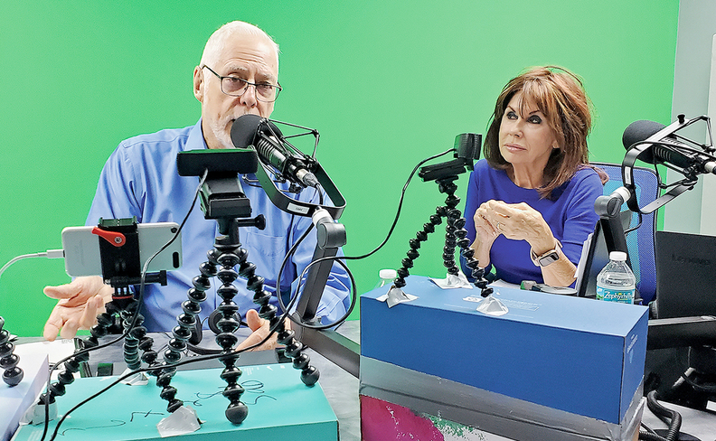 Dealer principal Earl Stewart has a radio show that often also features his wife, Nancy.