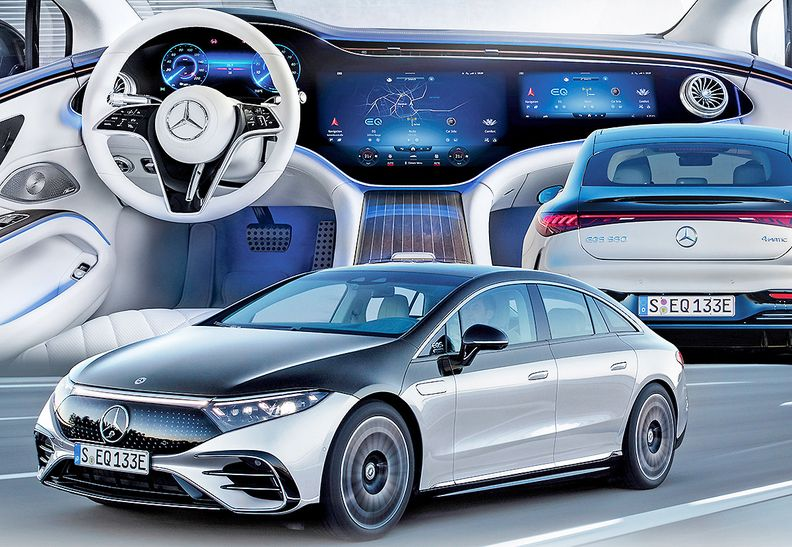 Mercedes bypasses crossover route, enters EVs sedan-first