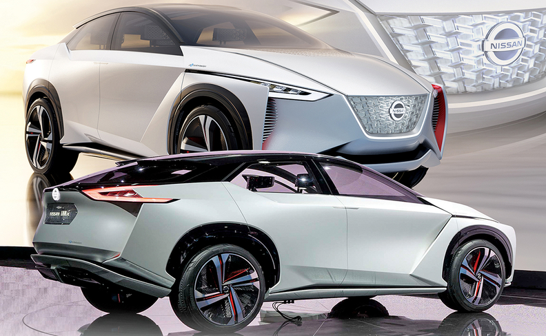 Nissan gives dealers a look at compact crossover EV