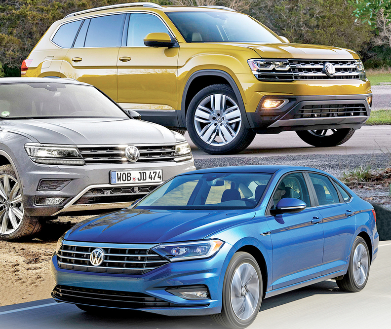VW's U S  sales gains on track to erase losses from