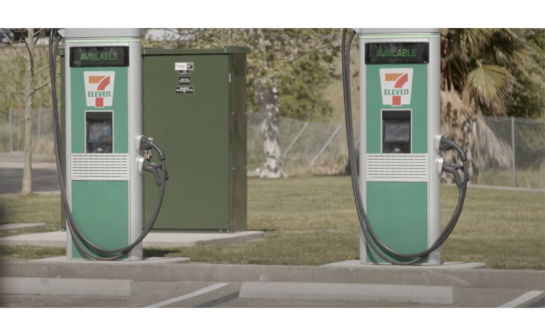 7-Eleven to install EV fast chargers at 250 N.A. stores