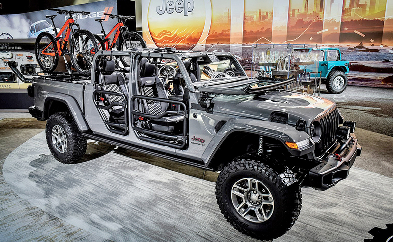 Jeep Gladiator is FCA's new accessories king