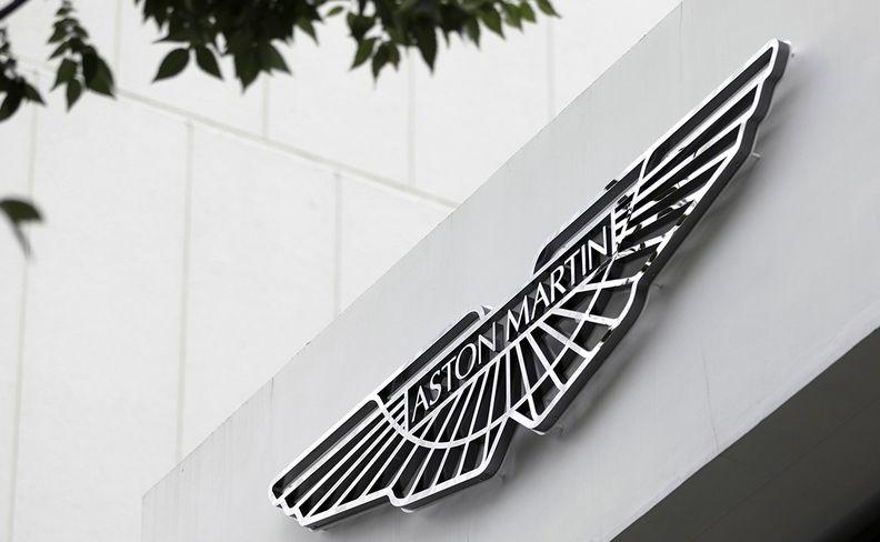 Aston Martin sign
