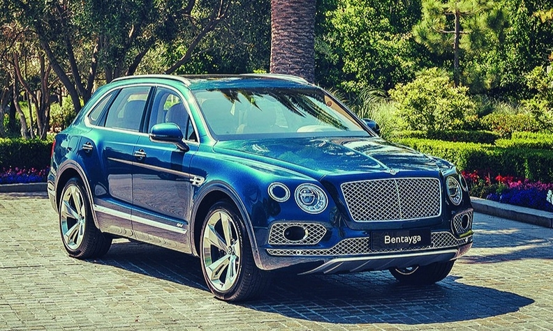 The Bentayga Hybrid launched in 2019.