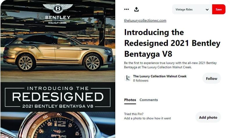 Digital Air Strike is working with dealerships to produce ad campaigns on Pinterest. The agency says users of the site have a shopping mindset.
