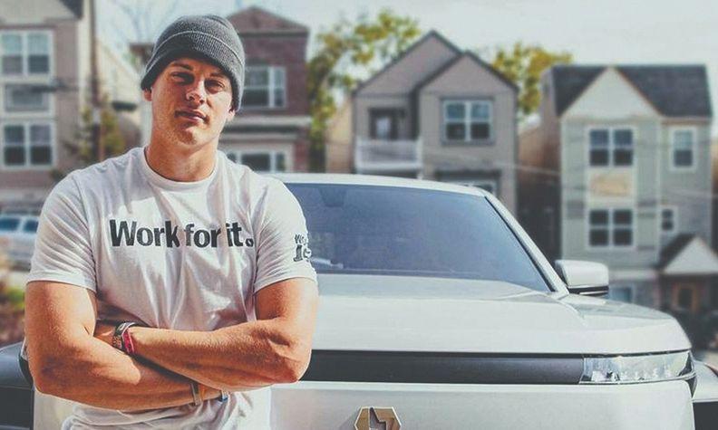 "Cincinnati Bengals rookie quarterback Joe Burrow stars in the ""Work for it"" campaign."