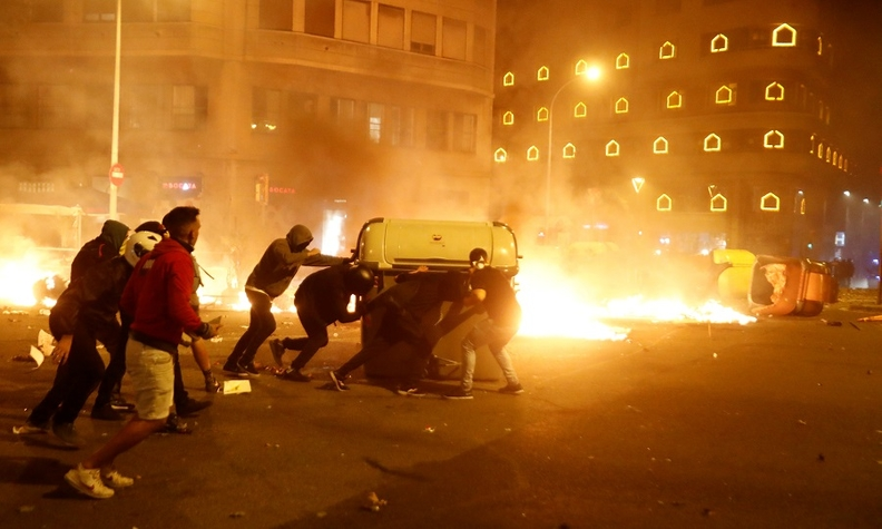 Barcelona protests Oct 2019 rtrs web.jpg