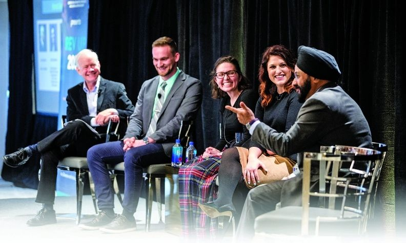 Industry leaders discuss diversity and inclusion during CADIA's annual Rev Up 2030 event.