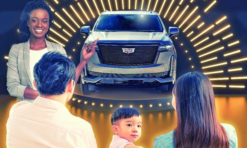 Cadillac Live matches a personal shopper with potential buyers through an online video chat to browse the brand's vehicle lineup.