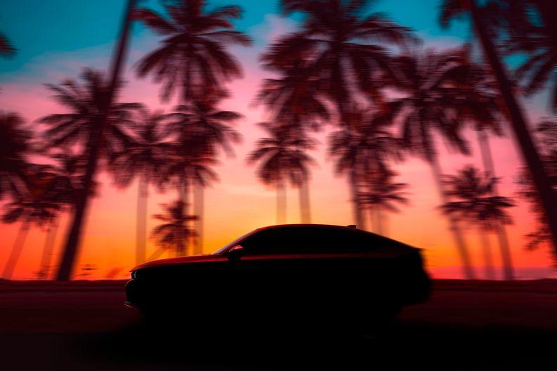 Honda previews next-gen Civic hatchback
