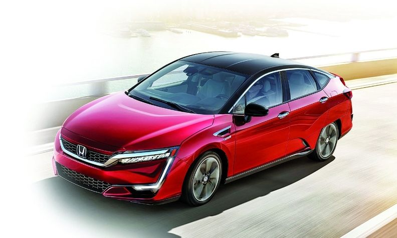 Honda has discontinued the fuel cell, shown, and plug-in hybrid, so it's over for the Clarity line.