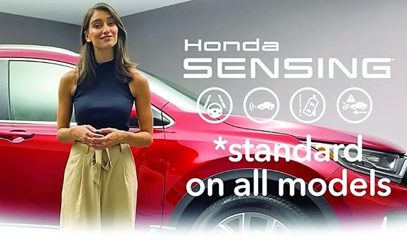 Paragon Honda's long-form ad featured a product specialist giving a rundown of features.