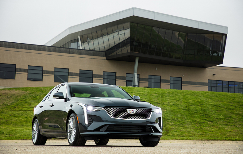 The CT4 is the fifth new or redesigned nameplate in the brand's product overhaul, which includes one vehicle introduction about every six months through 2021.