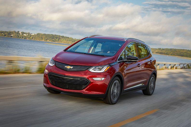 2019 Chevrolet Bolt electric vehicle