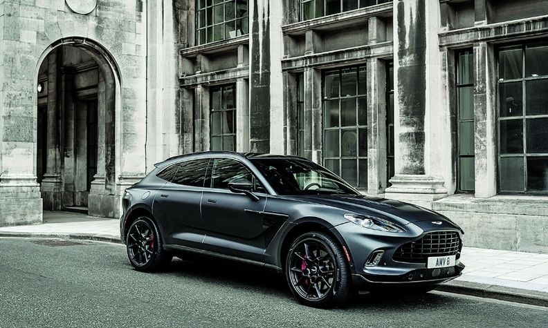 About half of Aston Martin's sales globally come from the DBX, CEO Tobias Moers says.