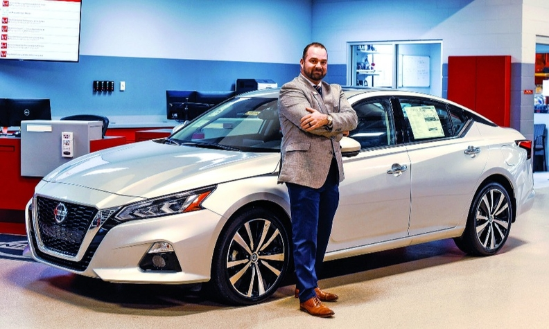 Tim Dement, general manager at Andy Mohr Avon Nissan, saw a service lounge filled with customers waiting for their cars as a sales opportunity.