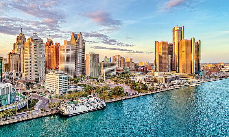 """GM """"supporting a strong future"""" in Detroit"""
