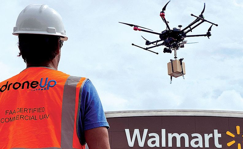 Walmart is trying several approaches for drones to see which serve customers best.