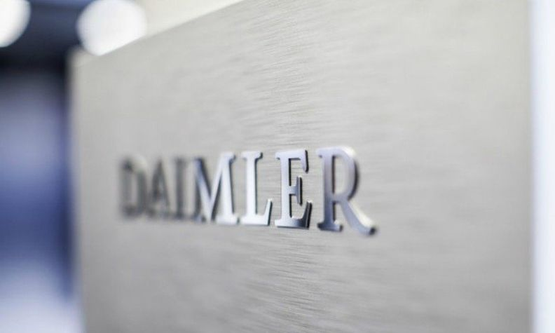 Daimler in silver