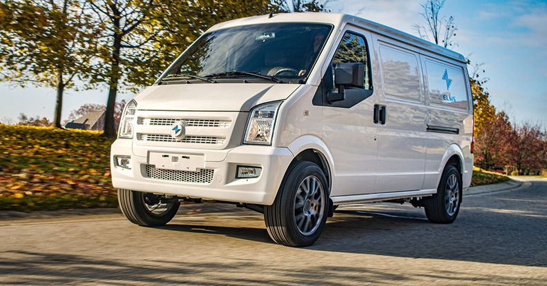 Electric Last Mile van