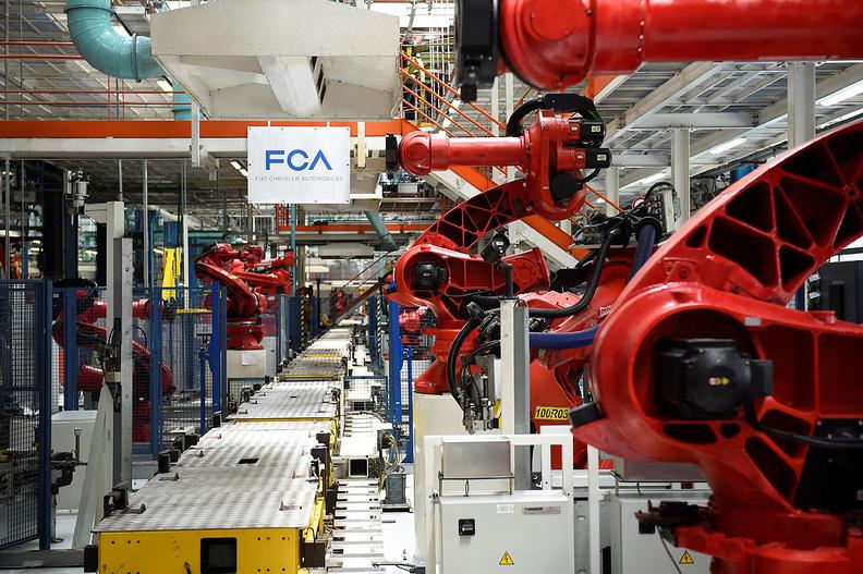 FCA robot
