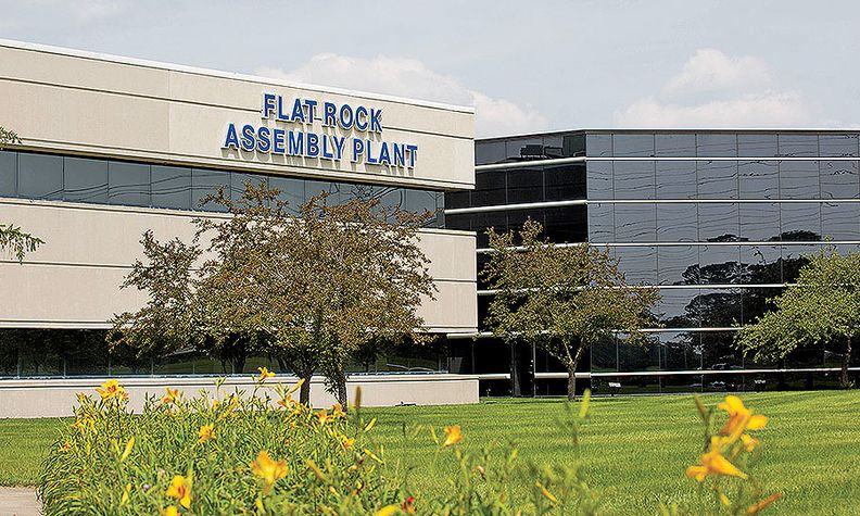 Flat Rock Assembly Plant: Site of the spill