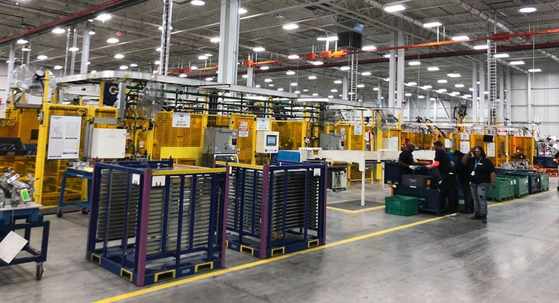 Flex-N-Gate opened a plant on Detroit's east side in 2018.