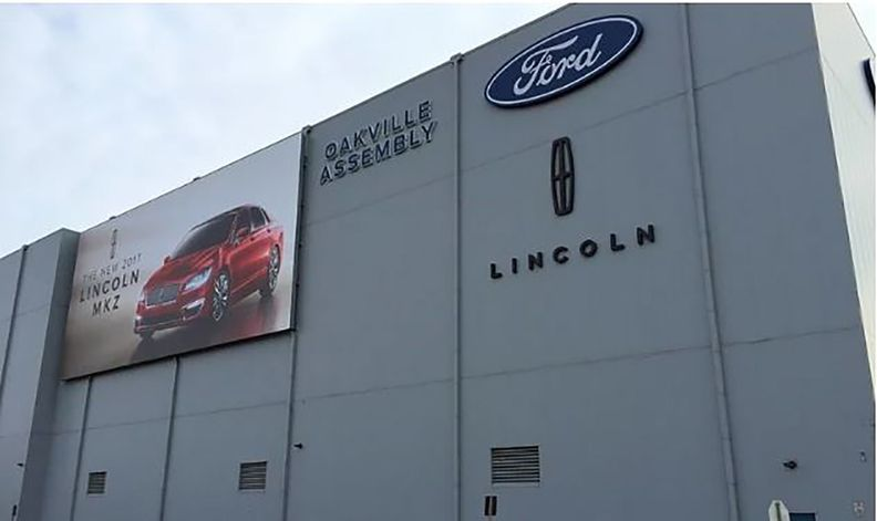 Ford's Oakville, Ontario assembly plant