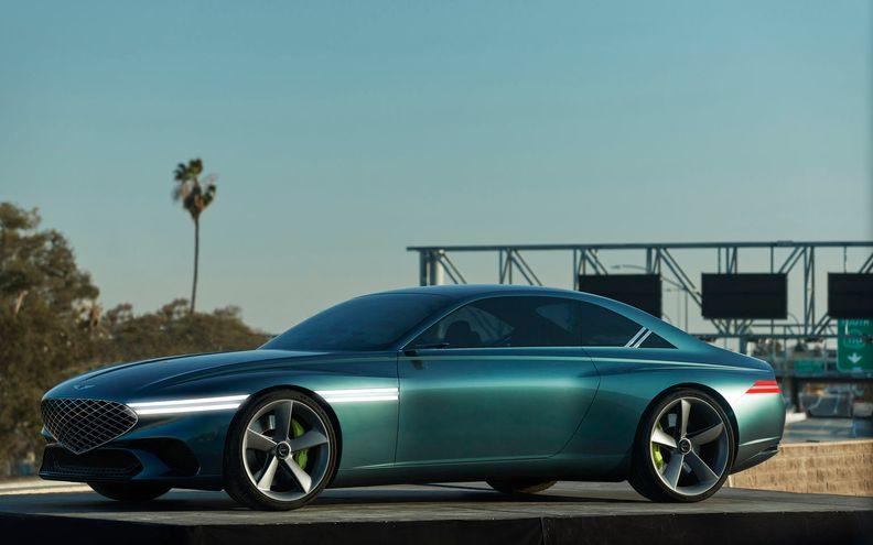 Genesis EV concept hints at new halo