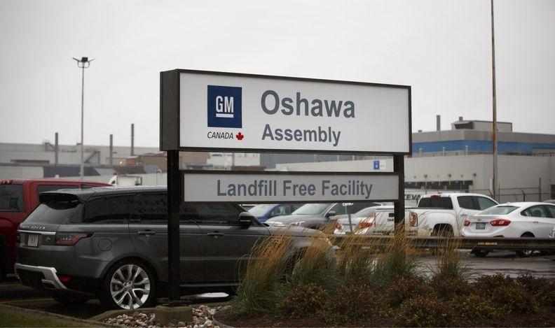 GM OSHAWA in Ontario, Canada
