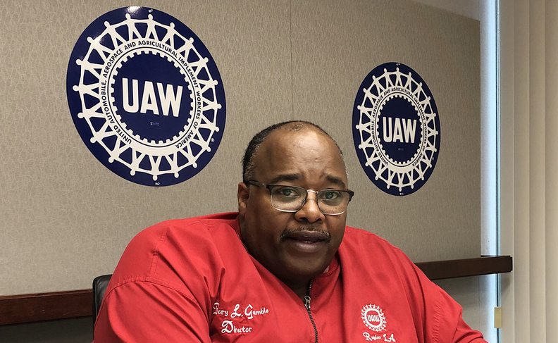 "UAW President Rory Gamble plans to announce ""major progress"" on ethics reforms by the end of the month."