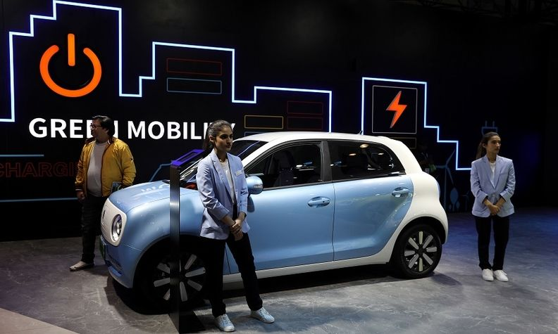 Great Wall's GWM electric vehicle