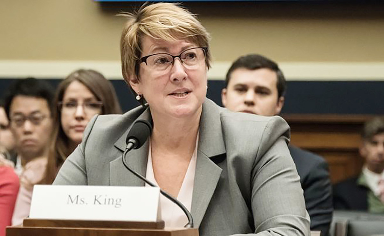 Heidi King, who was nominated asNHTSA's administrator but has never been confirmed by the U.S. Senate, is not being forced out of her job, Reuters reported.