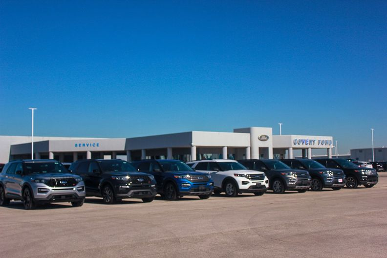 Covert Ford Hutto dealership