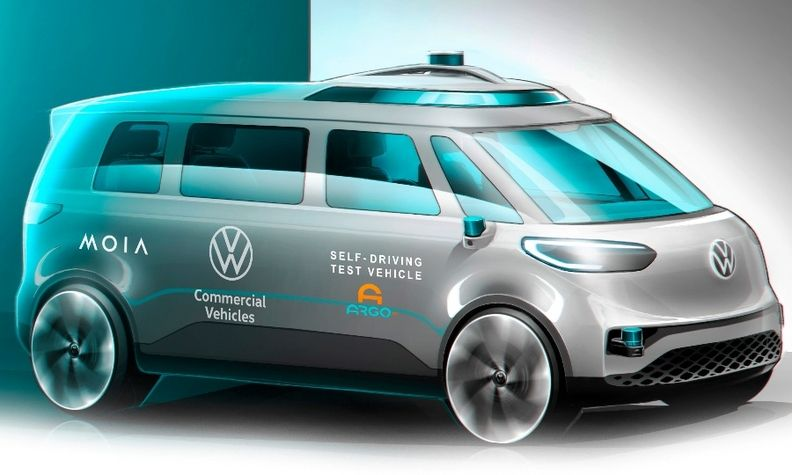 VW will use Argo AI's self-driving system on the ID Buzz platform and deploy it in 2025.