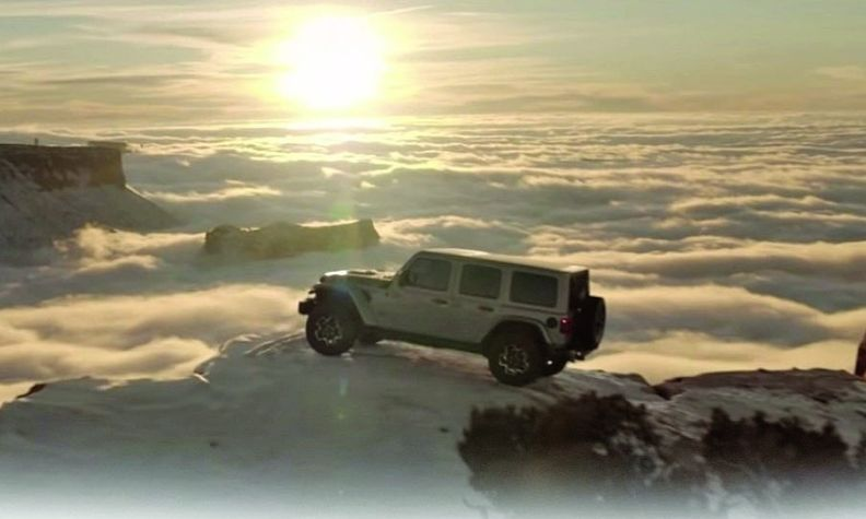 """The new Jeep ad features the famous """"Pale Blue Dot"""" passage from astronomer Carl Sagan, below."""