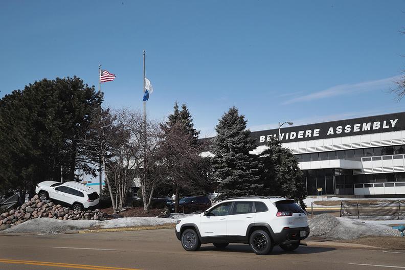 FCA Jeep Belvidere plant