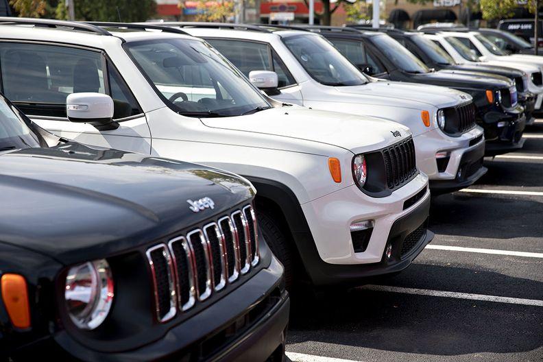 Jeeps in Japan
