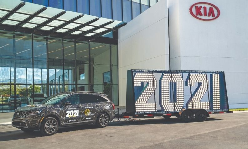 Kia and its marketing team are already pulling for 2021.