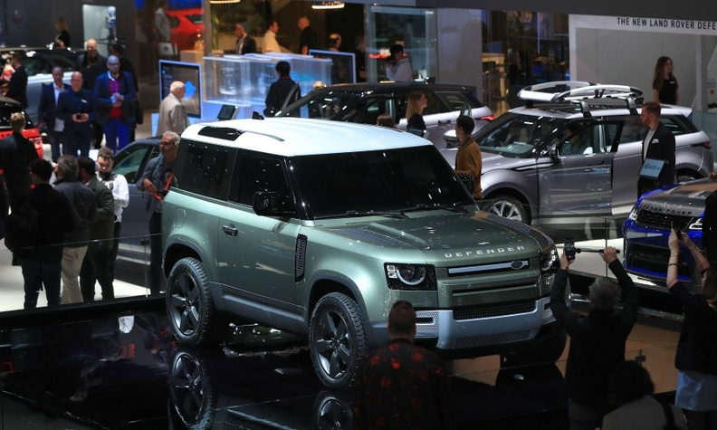 Among the key debuts in Frankfurt this year was the new Land Rover Defender.