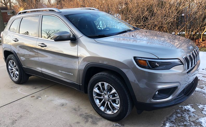 Lindsay's new Jeep Cherokee