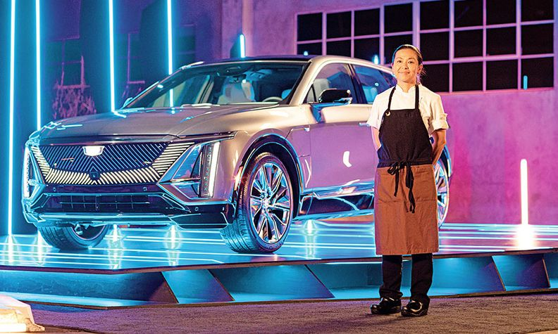 """Nakayama: Similarities in """"the way you experience food and a vehicle"""""""