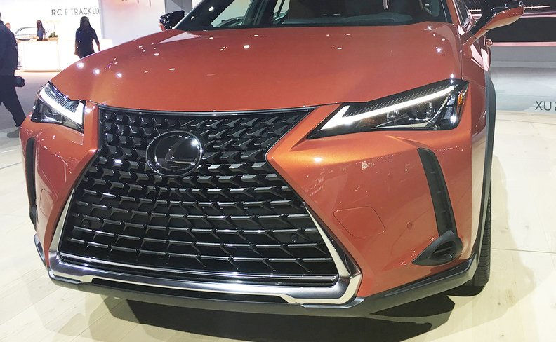 With the new UX compact crossover leading the way, with 1,403 deliveries, Lexus' light-truck deliveries rose 1.9 percent to 17,500 last month.