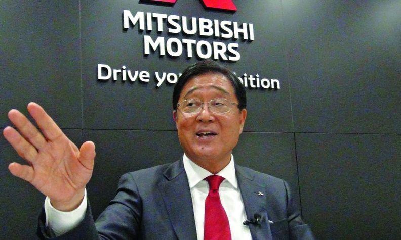 Chairman Osamu Masuko sought to rebrand Mitsubishi as a purveyor of electrified vehicles, crossovers and SUVs.