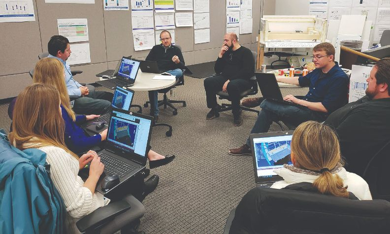 """The Maverick teams were brought together in a single room and worked in six- to eight-week """"sprints"""" to help speed the vehicle's development."""