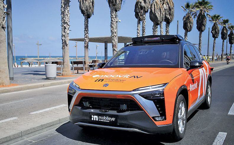 In Munich, Mobileye will run the robotaxis with Sixt under the MoovitAV banner.
