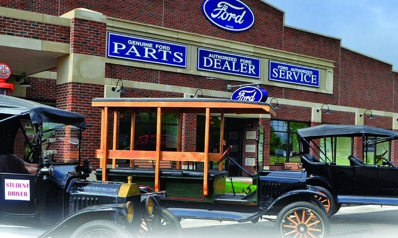 "The Gilmore Car Museum in Michigan will teach you to drive a Model T — ""I hope I stop!"" pedal and all."