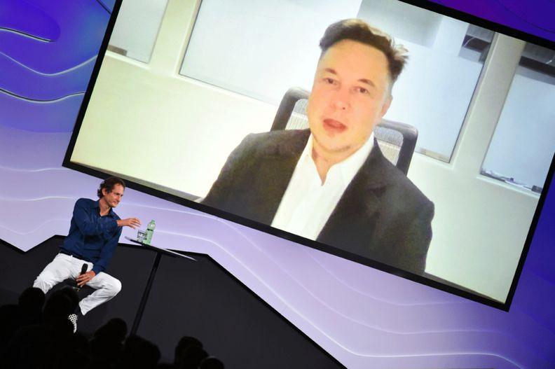 Musk videoconference