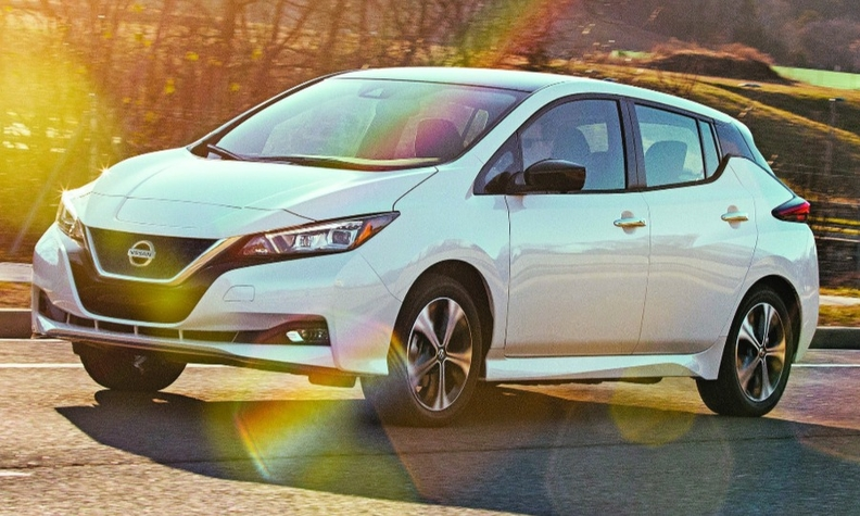 Limited range of early EVs, such as the Nissan Leaf, led to low demand that hurt resale values.